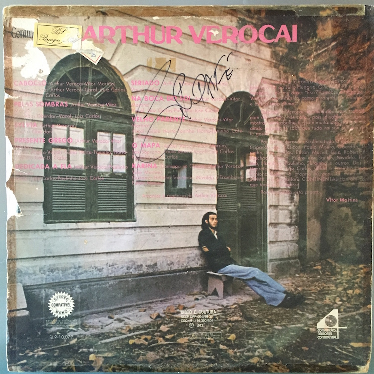 Full arthur verocai st back