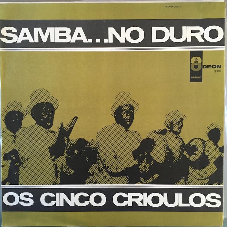 Full os cinco crioulos samba front