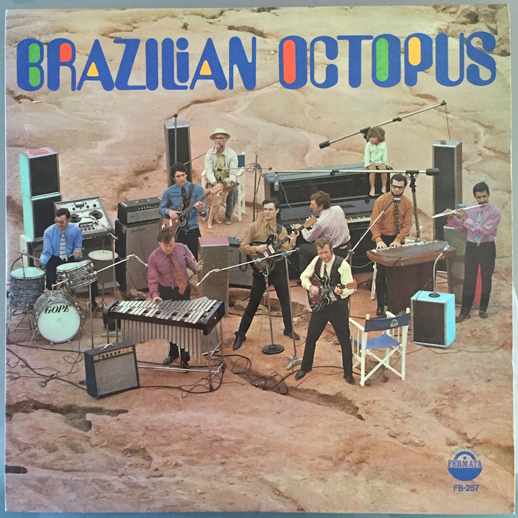 Full brazilian octopus front