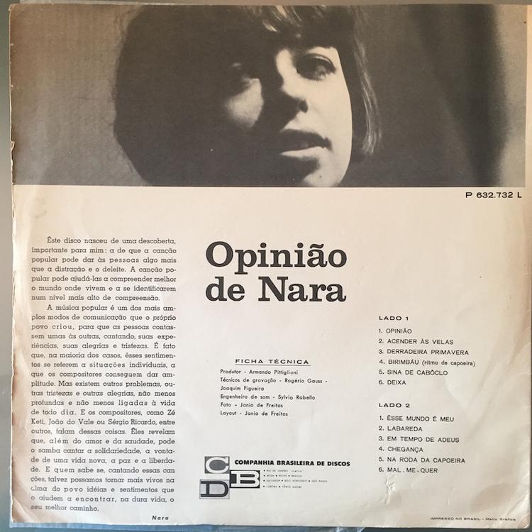 Full nara leao opiniao back