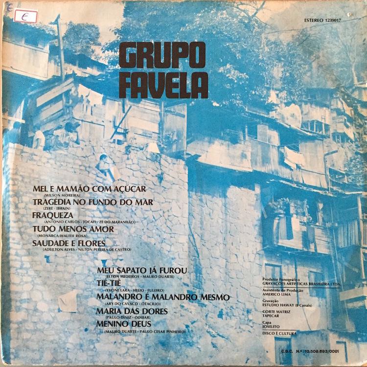 Full grupo favela back
