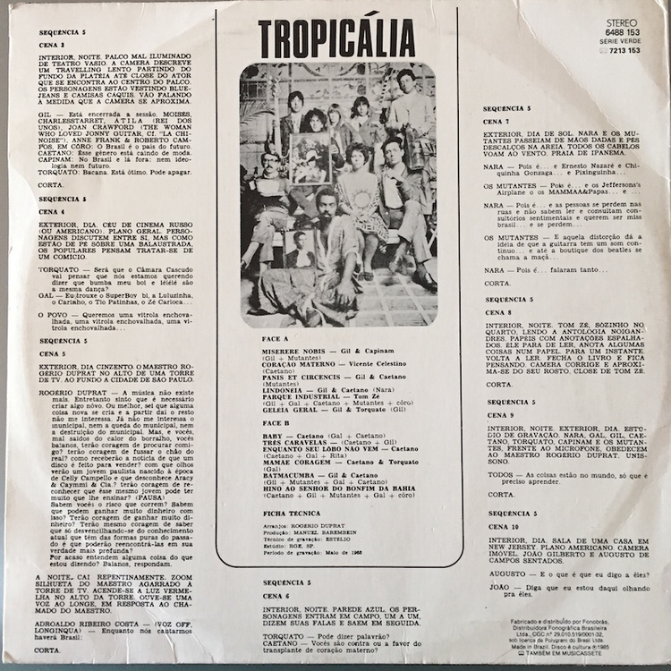 Full tropicalia back