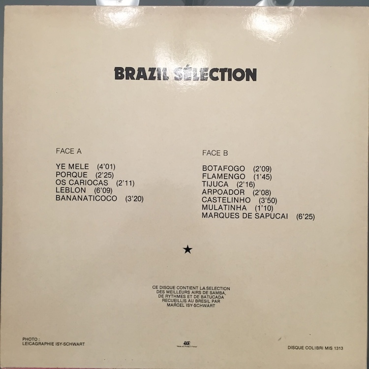 Full brazil selection back