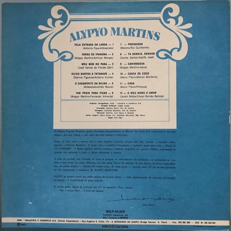 Full alypyo martins carimbo back