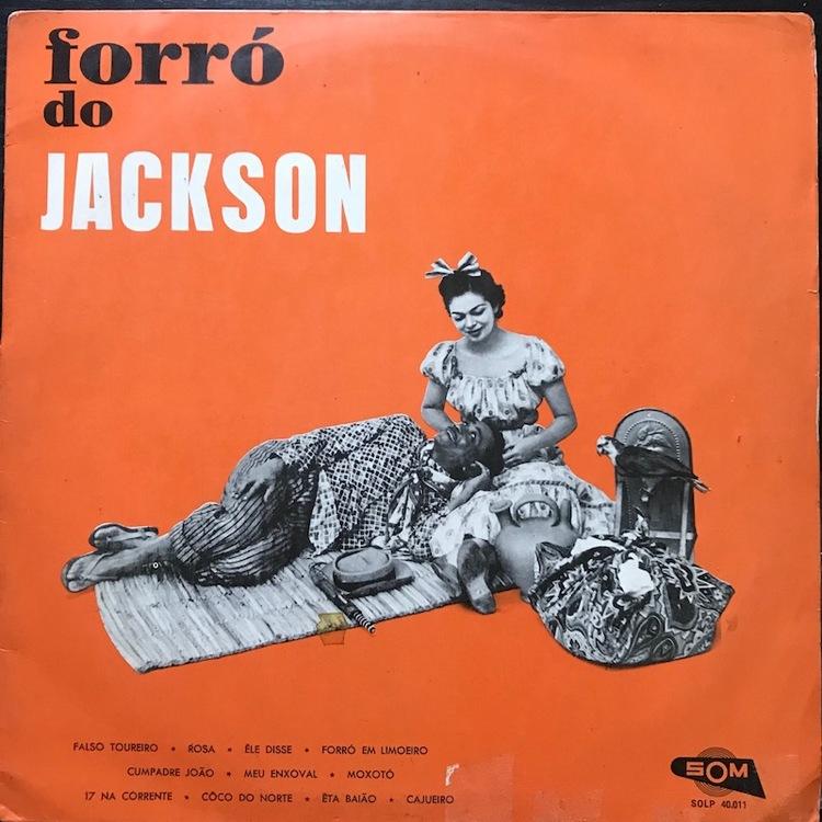 Full jackson pandeiro forro front