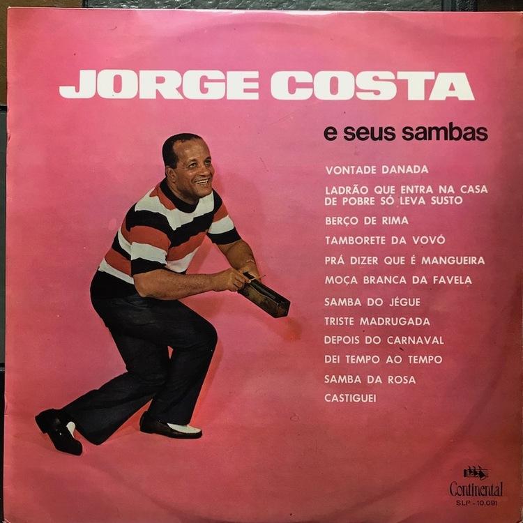 Full jorge costa sambas front